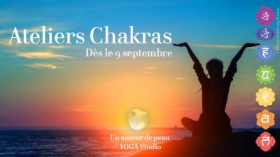 5 ateliers Yoga : au delà des postures, les chakras