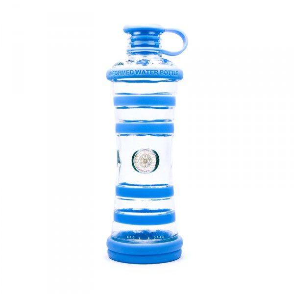 i9bottle bouteille en verre - bleu