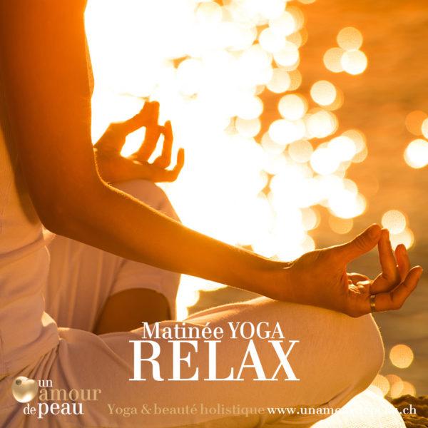 Matin yoga relax